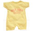 opaľovačka milk girls -žltá