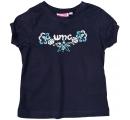 dievčenské tričko tmavo modré