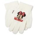 detské rukavice Minnie - smotanové