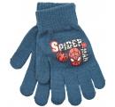 detské prstové rukavice Spiderman - sivo modré