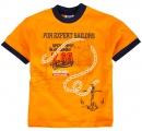 detské tričko sailors oranžové