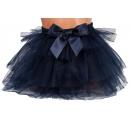 tutu sukňa - tmavo modrá