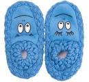 detské papučky - pletené