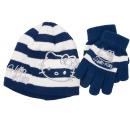 detská čiapka a rukavice Hello Kitty - modrá