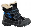 Detské topánky na zimu - Protetika - Azaro Black