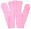 silónové pančušky - ružové 3