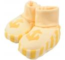 detské papučky s obrázkom - žlté