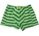 detské boxerky zelený pásik