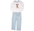 detské pyžamko bledo modré - Mickey