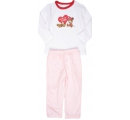 detské pyžamko ružovo červené - Minnie