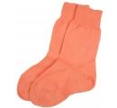 detské ponožky 100% bavlna - oranžové