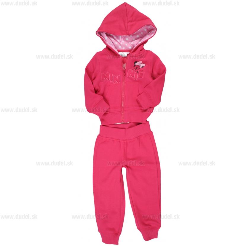 Detská tepláková súprava Minnie - ružová