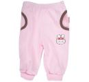detské tepláčiky ružové -zajac