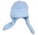 detská čiapka baranička modrá