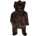 overal medvedík - hnedý