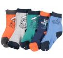 chlapčenské detské ponožky 100% bavlna - 5 párov
