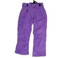 detské lyžiarske nohavice na traky - fialové