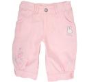 dievčenské kapri nohavice - ružové