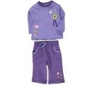 detská tepláková súprava - fialová