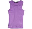 tielkové tričko so srdiečkom - fialové