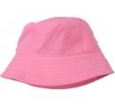 detský klobúčik na leto - ružový