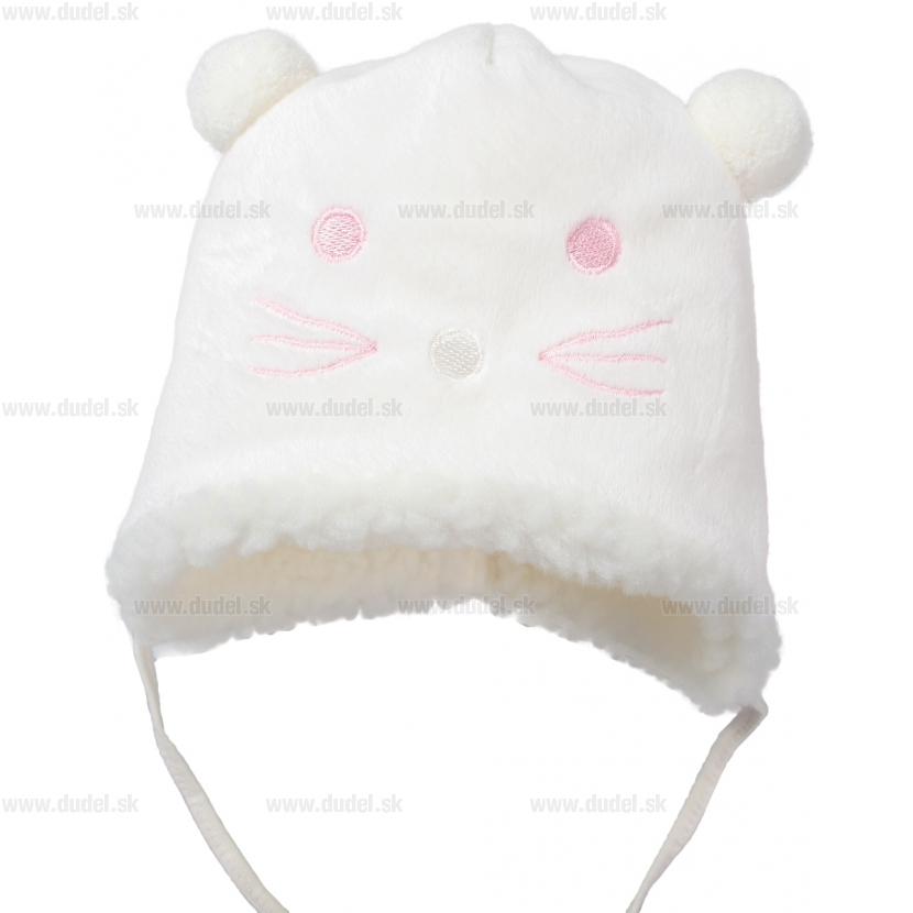 c16ce16ed Zimná čiapka pre bábätko - biela od 9.90 € - Tovar.sk