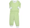 detské pyžamko dvojdielne zelené