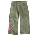 detské dievčenské nohavice - zelené