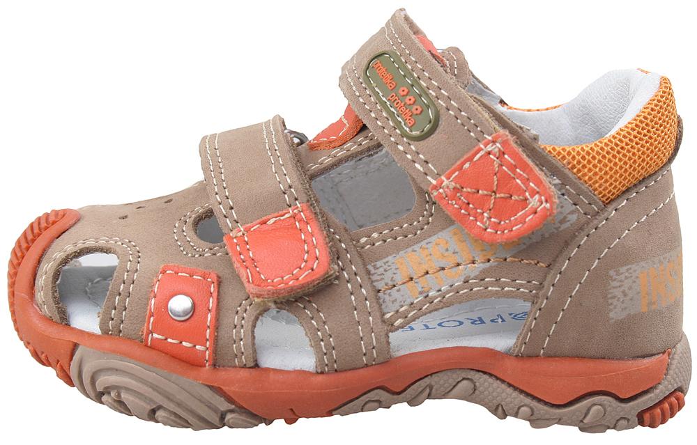 5fae3bc01f38 detské sandále Protetika - Rusty orange