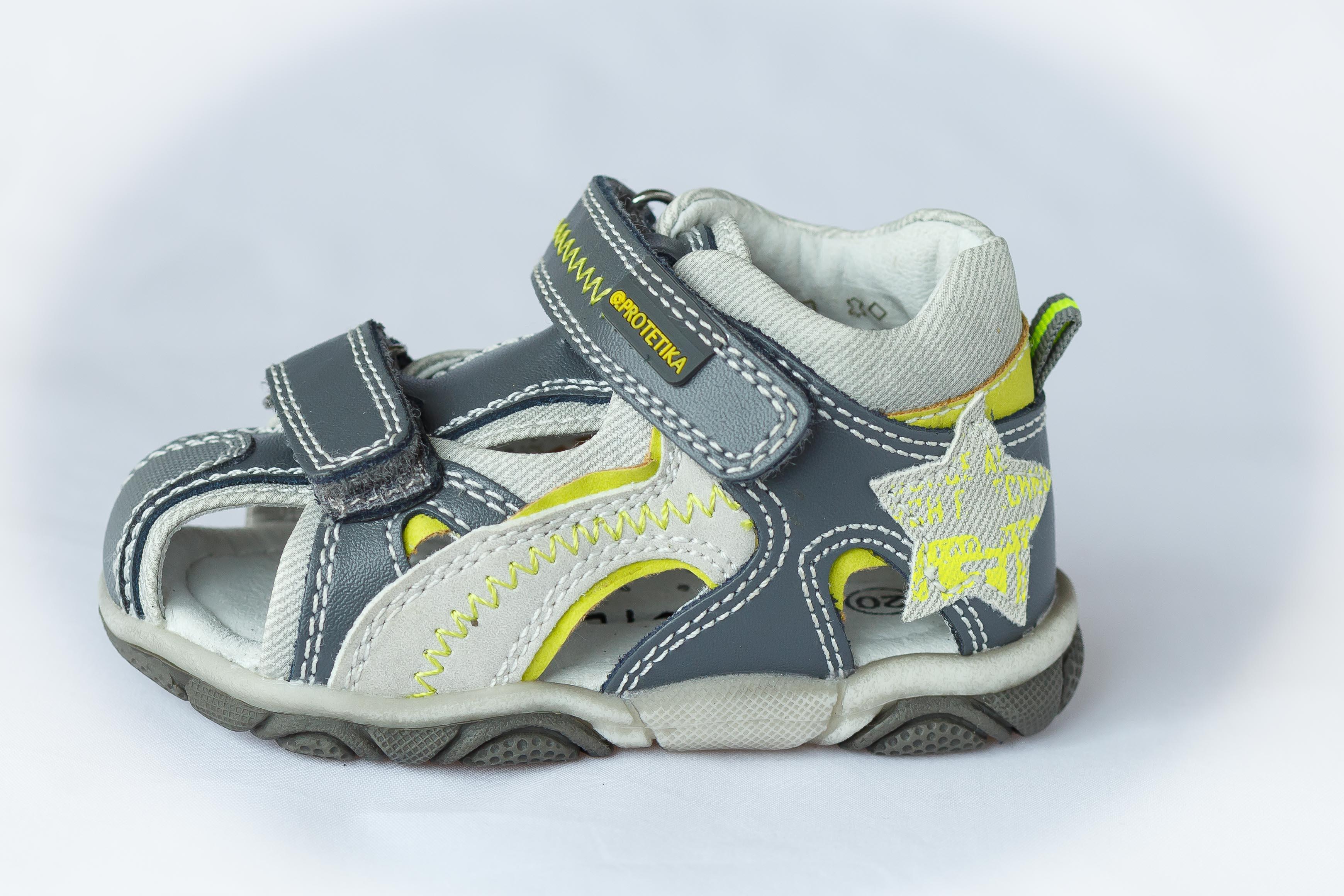 647b7126df42 detské sandále Protetika - Leros