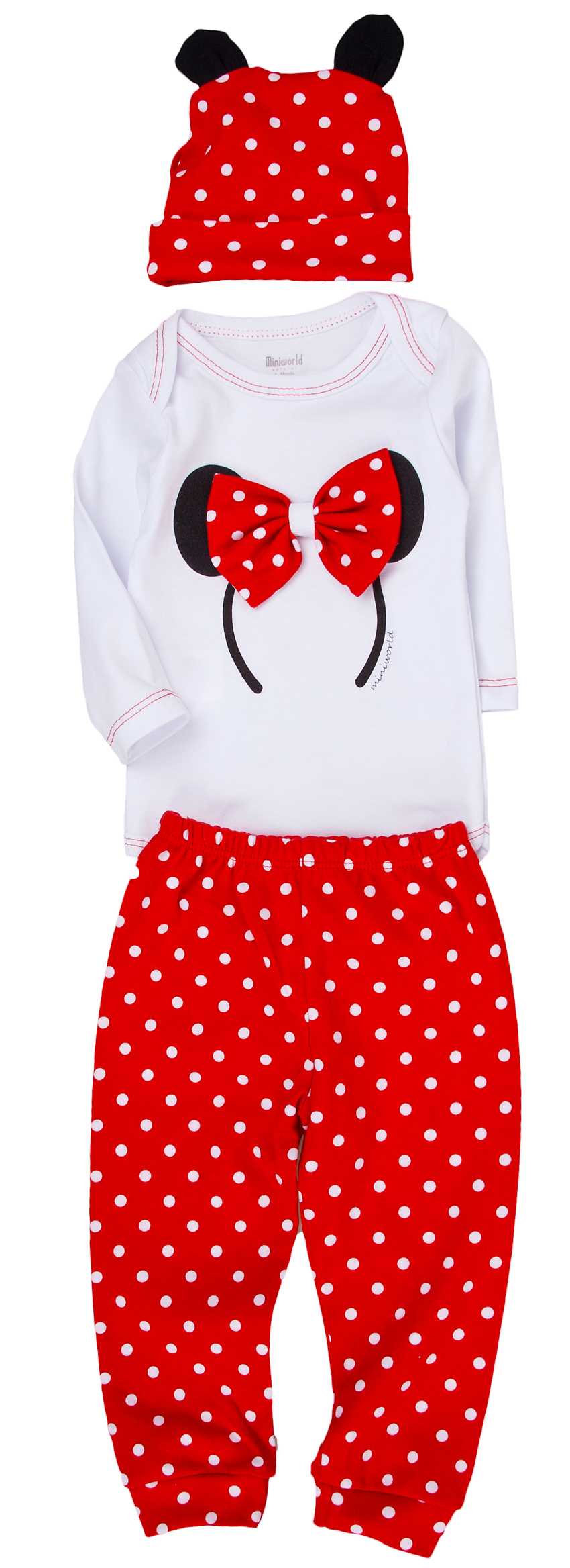 92eb25e8e Detská súprava Mickey - body, čiapka, tepláčiky